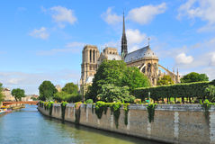 Paris.  Notre Dame Royalty Free Stock Photos