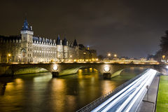 Paris in January Royalty Free Stock Photography