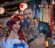 Paris - Japan Expo 2017. Japan expo, costumes, cosplay, manga and anime Stock Image