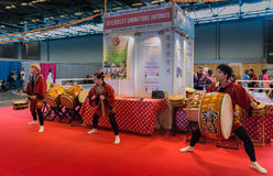 Paris - Japan Expo 2017. Japan expo, costumes, cosplay, manga and anime Royalty Free Stock Photography