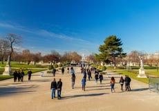 paris Jardin des Tuileries Obraz Royalty Free