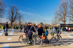 Paris. The Jardin des Tuileries. Stock Image