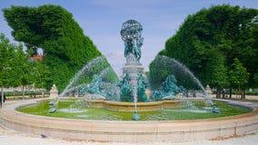 Paris, Jardin DU Luxemburg Stockbilder