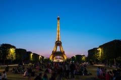 PARIS - JULI 12, 2013 Arkivfoto