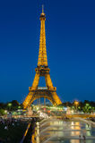 PARIS - JULI 12, 2013: Eiffeltorn på Juli 12 Royaltyfria Foton