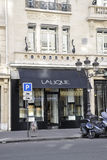 Paris, am 18. Juli: Lalique Magasin von Paris in Frankreich Stockbilder