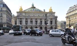 Paris, am 15. Juli: Oper Garnier Building von Paris in Frankreich Lizenzfreies Stockfoto