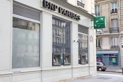 BNP Paribas stock photo