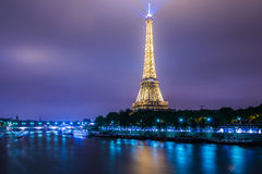 PARIS - JULY 12, 2013: Eiffel Tower on July 12 Stock Photography