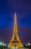 PARIS - JULY 12, 2013: Eiffel Tower on July 12 Royalty Free Stock Photo