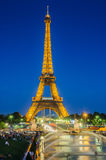 PARIS - JULY 12, 2013: Eiffel Tower on July 12 Stock Images