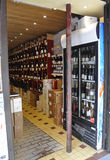 Paris,July 17:Liquor Store in Montmartre in Paris royalty free stock images