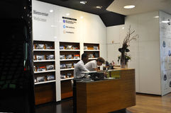 Paris,July 14:Mercedes Showroom magasin on Champs Elysees avenue in Paris Stock Photography