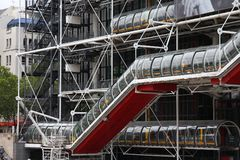 Paris - Pompidou Stock Image