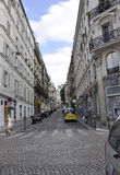 Paris,July 17:Street view in Paris from France Stock Images