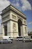 Paris,July 15th:Arch of Triumph view from Paris in France Stock Image