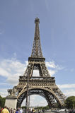 Paris,july 18th:Eiffel Tower from Paris in France stock photos