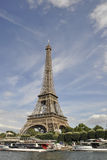 Paris,july 18th:Eiffel Tower from Paris in France stock photography