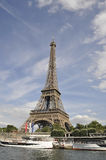 Paris,july 18th:Eiffel Tower from Paris in France royalty free stock photo
