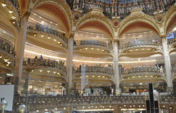 Paris,July 15th:Lafayette Galeries interior from Paris in France Stock Photo