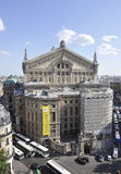 Paris,July 15th:Opera Garnier Building facade from Paris in France Stock Photo