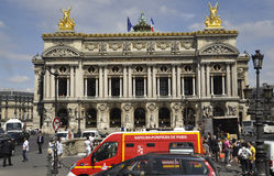 Paris,July 15th:Opera Garnier Building from Paris in France Royalty Free Stock Images