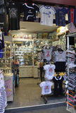 Paris,July 15th:Souvenirs Shop from Paris in France Royalty Free Stock Images