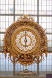 PARIS-JUNE 4 :Musee D'Orsay II的时钟 库存图片