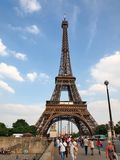 Eiffel tower it's one of most important towers of the world. Royalty Free Stock Photo