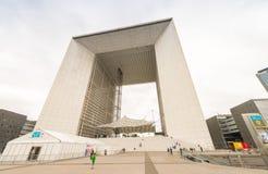 PARIS - JUNE 9, 2014: La Defense skyline. This is the business c Royalty Free Stock Images