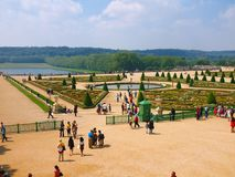 Versailles palace gardens. France. June 20, 2012 Royalty Free Stock Photos