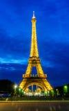 PARIS - JUNI 15: Eiffeltorn på Juni 22, 2012 i Paris eiffel Arkivfoto