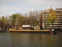 Paris-Kanal Stockfotos