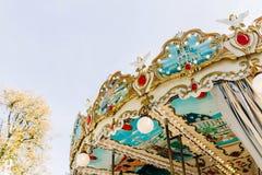 Paris karusell - Jardin des Tuileries royaltyfria foton