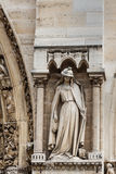Paris-Kathedrale Notre Dame Stockfotos