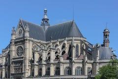 Paris katolikdomkyrka Royaltyfri Fotografi