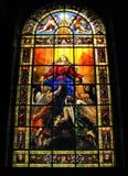 Paris - Kirche von Notre Dame de Lorette - Glas lizenzfreies stockfoto