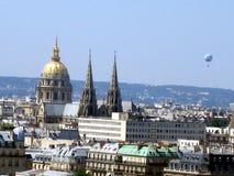 Paris krajobrazu Zdjęcie Royalty Free