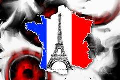 Paris-Kunstdesignillustration Lizenzfreies Stockfoto