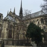 Paris kyrka Royaltyfria Foton