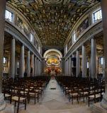 Paris - kyrka av vår dam av Loreto arkivfoto