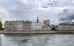 Paris - l'île de la ville Photos libres de droits