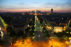 Paris La Defense Stock Photography