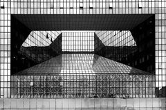 PARIS, LA DEFENSE-FRANCE, 2006 - Modern architecture Stock Images