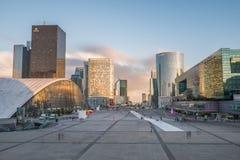 Paris - La Defense Stock Photo