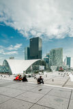 Paris La Defense Royalty Free Stock Photography