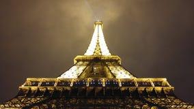 Paris la nuit photo stock