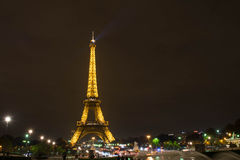 Paris la nuit Photos stock