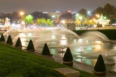 Paris la nuit Images stock