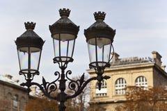 paris lampowa ulica Obraz Stock